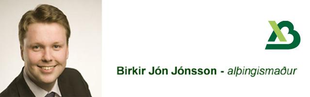 Birkir Jón Jónsson - Hausmynd